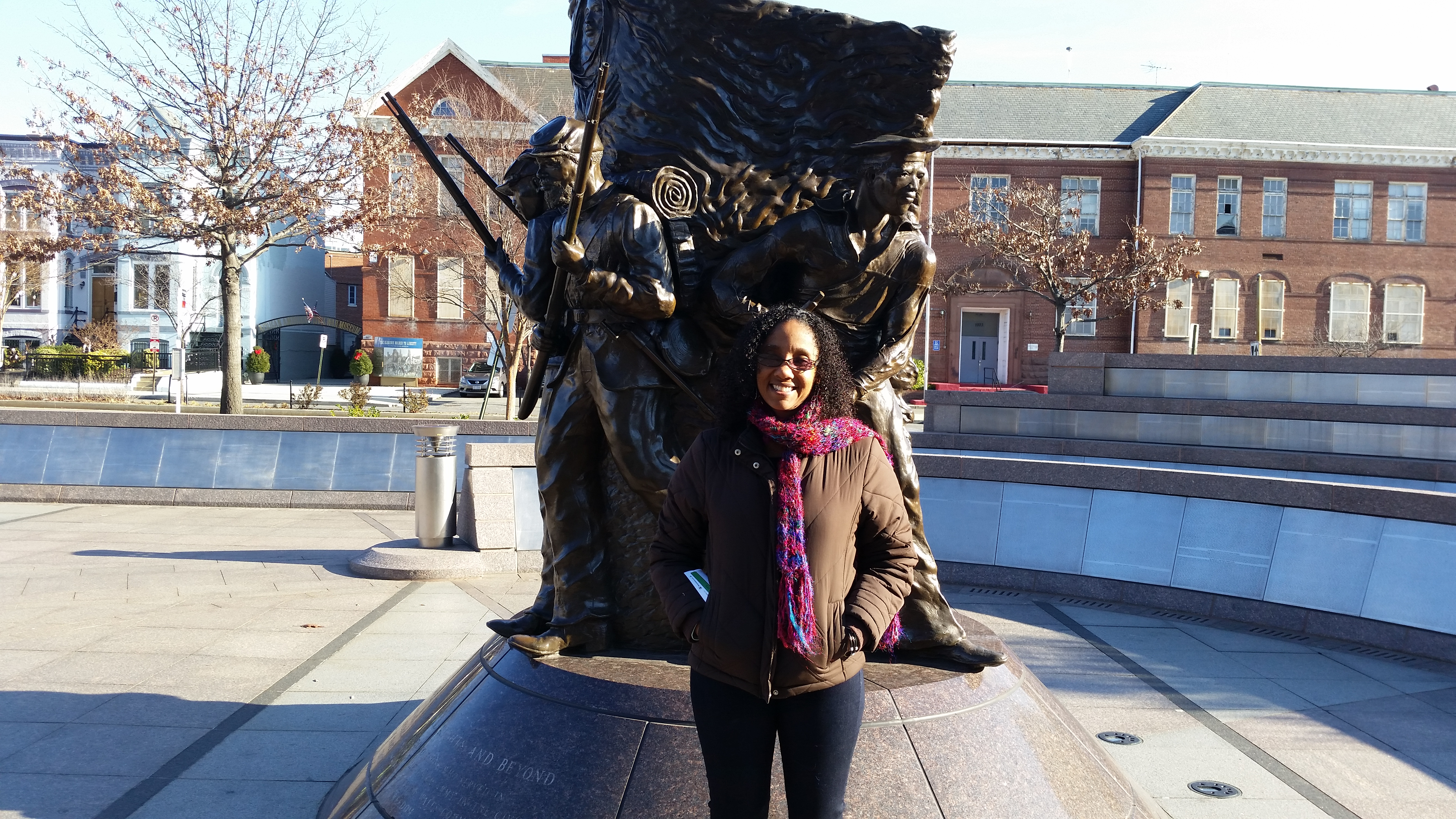 Clare Norris Bell At The African American Ivil War Museum