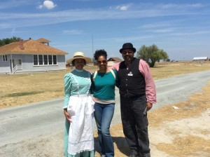 Allensworth Pic with Nia and Joshua